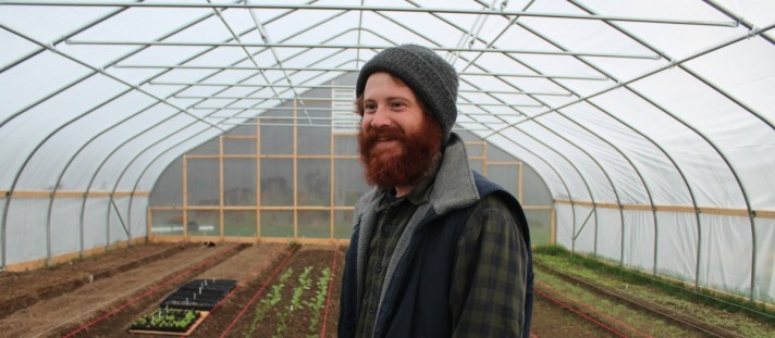 Meet Dustin; Farmer, grower, animal caretaker, green thumb haver, scientist, skier & fisher